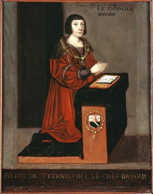 Pierre du Terrail seigneur de Bayard dit Le Chevalier Bayard (1476-1524). Le Chevalier Bayard, enfant du Grésivaudan, honoré en Isère. Histoire de France. Patrimoine. Magazine