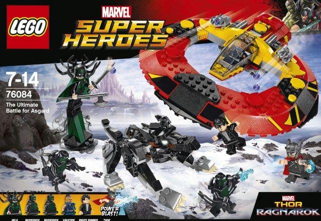 LEGO 76084 Thor Ragnarok The Ultimate Battle for Asgard