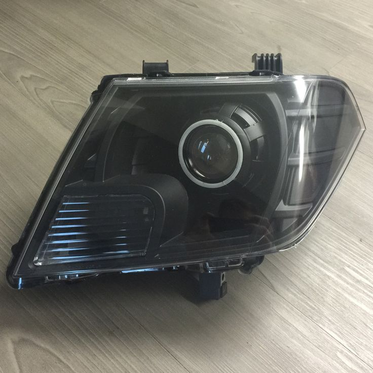 2009-2013 Nissan Frontier Retrofitted Headlights
