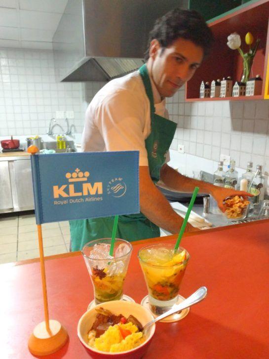 Chef Rodrigo Oliveira do Restaurante Mocotó e o novo menu da KLM - Longe e Perto - Blog com dicas de viagem