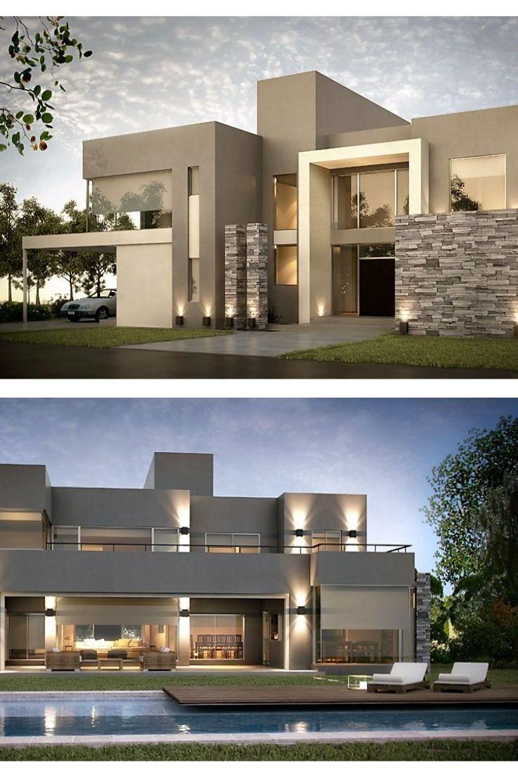 Inarch Arquitectura Construccion Fachadas De Casas Modernas