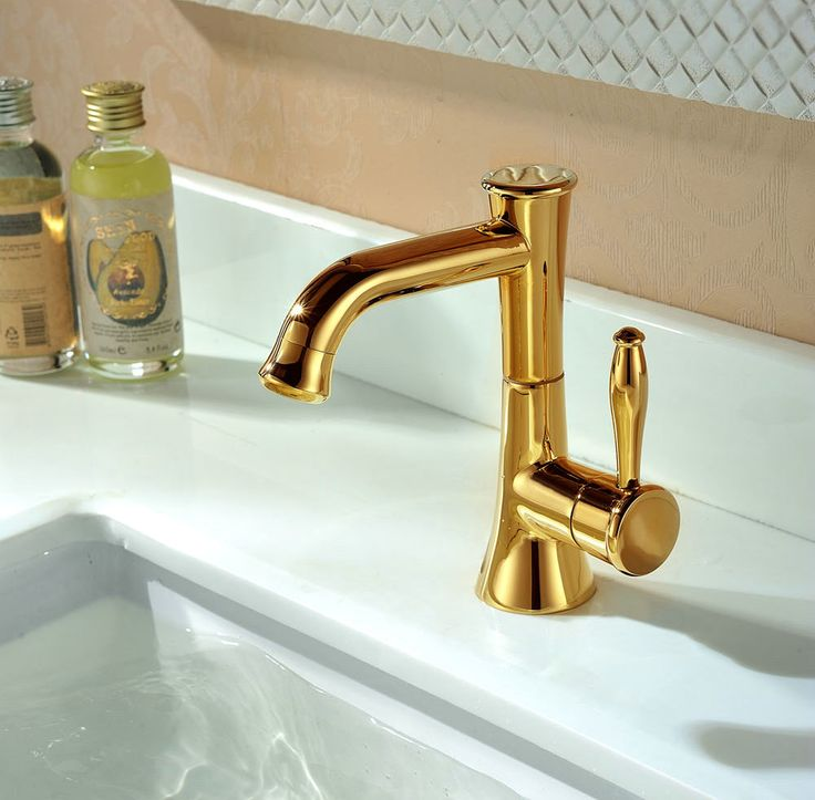 Create Photo Gallery For Website Ti PVD Finish Contemporary Style Bathroom Sink Faucet TG