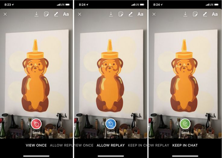 Instagram Direct one-ups Snapchat with replay privacy controls | TechCrunch