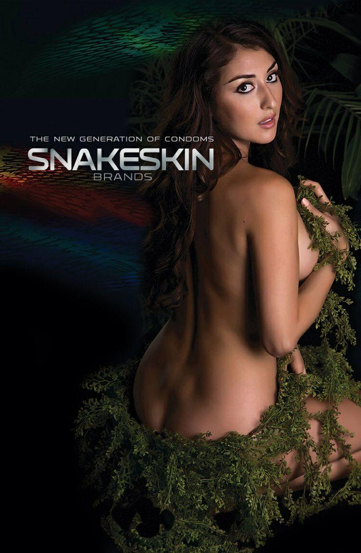 Jazmin photographed by Katya Williams for Snakeskin Brand Condoms