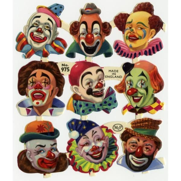 Clown heads: