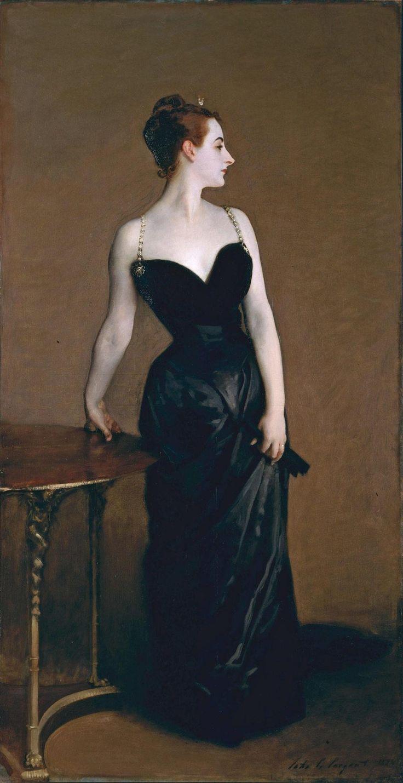 "John Singer Sargent ""Madame X"", 1884, olej na płótnie, 208,6 × 109,9 cm, Metropolitan Museum of Art, fot.: wikipedia.org"