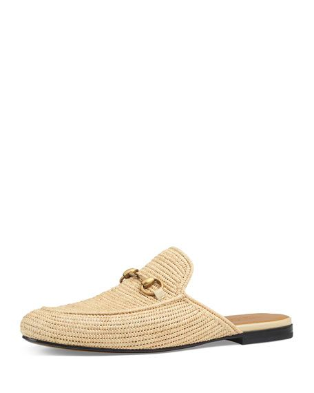 42b71022f2c Men's Princetown Kings Raffia Mule Loafer Loafer Mules, Loafers, Gucci Men,  Gucci Shoes