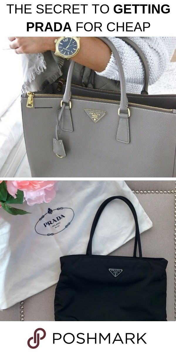 d4569a1ff7537a Find authentic Prada bags up to 70% off when you shop on Poshmark! Download  the app today!