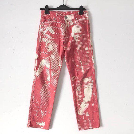 90s Jean Paul Gaultier La Mujer Punk Club Kid Jeans
