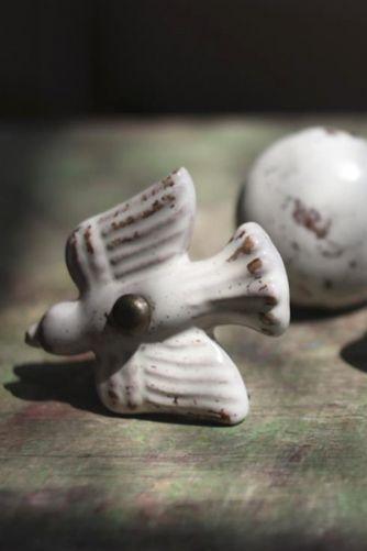 Found on Rockett St George Ceramic Talia Bird Knob