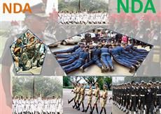 National Defence Academy is located Khadakwasla, Pune cadets join after 10 +2 Exam on passing the UPSC Exam and SSB Interview. NDA Trains cadets of Army, Air Force, and Navy for three years before they go on to their respective service academies for the Pre - commission training of one year.