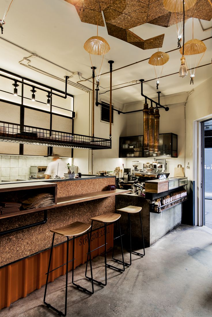 Single Origin Roasters, Surry Hills Sydney. Design by Luchetti Krelle.  Photo by Michael Wee.