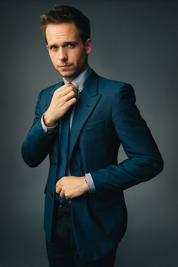 A man in a suit is the biggest turn...especially if it's Patrick Adams! #MikeRoss #Suits