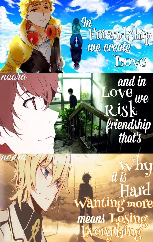 Oyyyyyy Best Quote 60k60 Fluffy C Anime Quotes Pinterest Enchanting Anime Quotes About Friendship