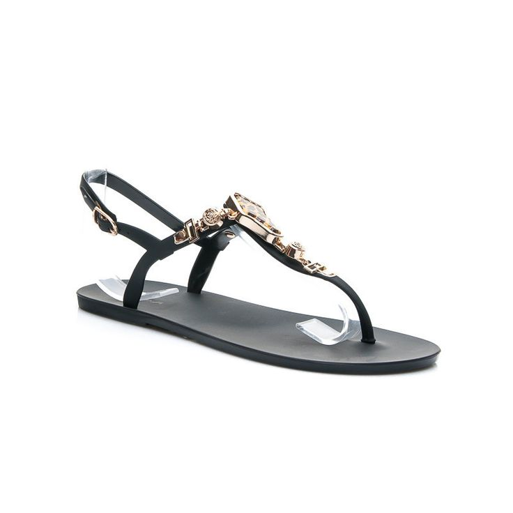 GUMOVÉ sandále s ornamentami http://www.cosmopolitus.com/gumowe-sandaly-ozdobami-czarny-s373p-p-104000.html?language=sk&pID=104000 #sandale #leto #zeny #podpatky #kliny #deti #MELISKI #zabky