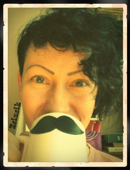 Mugface - mustache