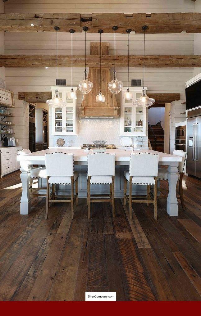 Cherry Wood Floor Decorating Ideas
