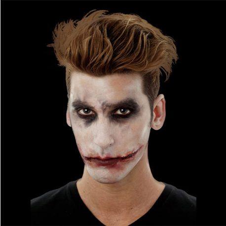 Sourire Joker ensanglanté