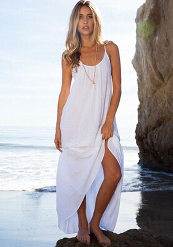 17 Best ideas about White Beach Dresses on Pinterest | Beach ...