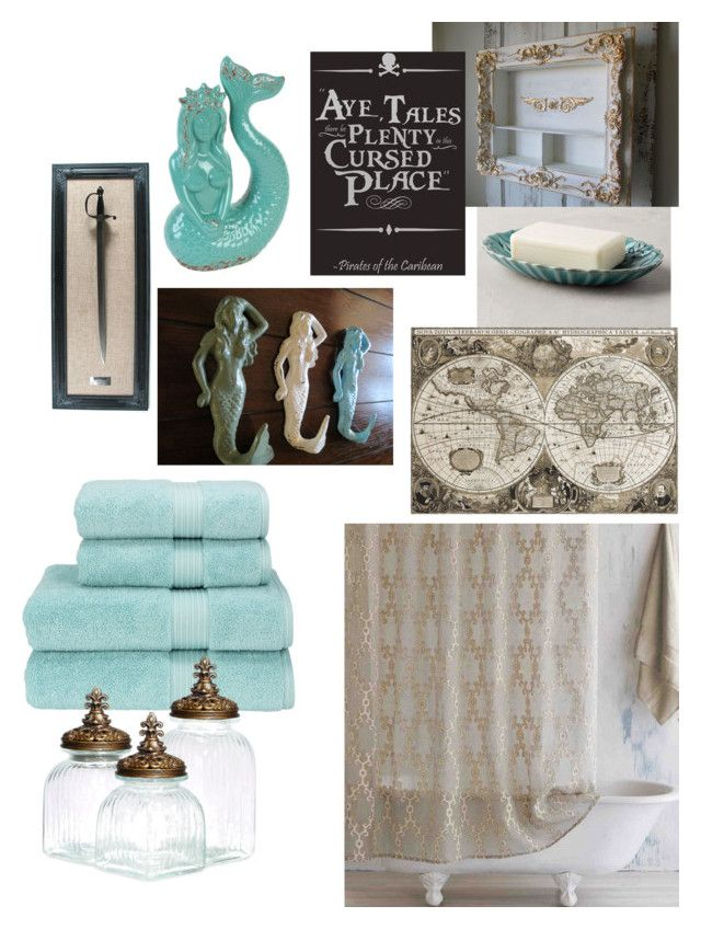 Pirates Of The Caribbean Bath By Kay Hair On Polyvore Featuring Polyvore Interior