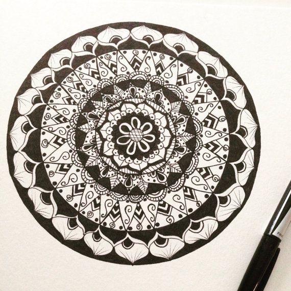 Mandala 5 by FunkyTimes on Etsy