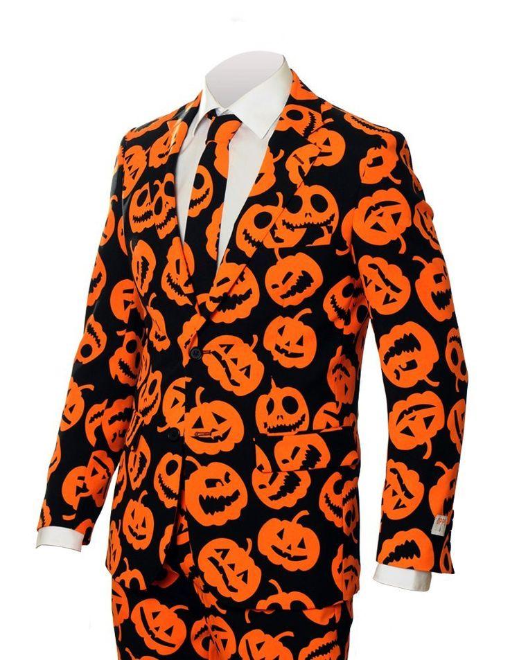 Pumpkin Halloween Suit http://stuffyoushouldhave.com/pumpkin-halloween-suit/
