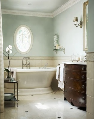 Exceptionnel Serene Seneca: Light And Calming Bathrooms · Paint ColorsBeautiful ...