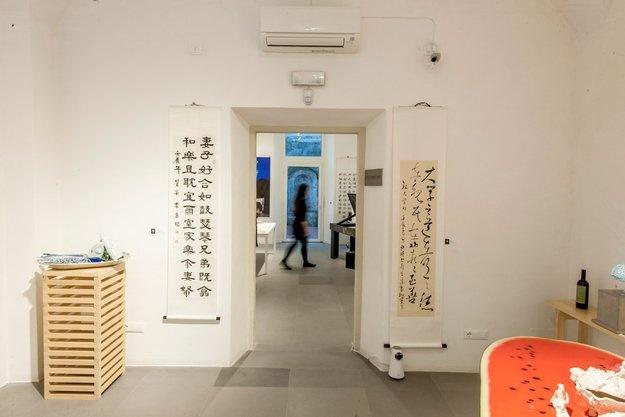Otto Luogo dell'Arte: 戴武 / Dai Wu - 白锐 / Bai Rui - 李泰根(苍松)/ Lee Tae Keun