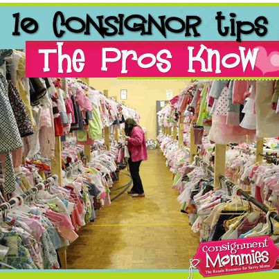 10 Tips the Pros Know: Consignment Sale Tricks & Hacks