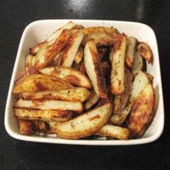 Baked French Fries IIFries Recipe, Olive Oil, Fries Ii, Plastic Bags, Baking Fries, Parmezaans Basilicum, Baking French Fries, Gebakken Parmezaan, Basilicum Frieten