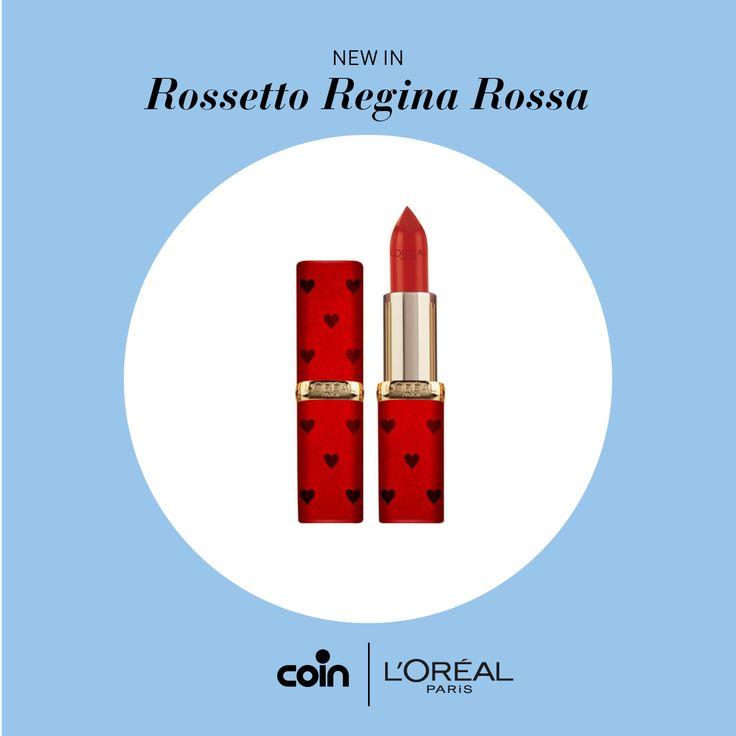 """Una favolosa linea di colori dedicata al film Disney """"Alice attraverso lo specchio"""". Ecco a voi il """"Rossetto Regina Rossa"""" della Limited Edition di L'Oréal Paris."""