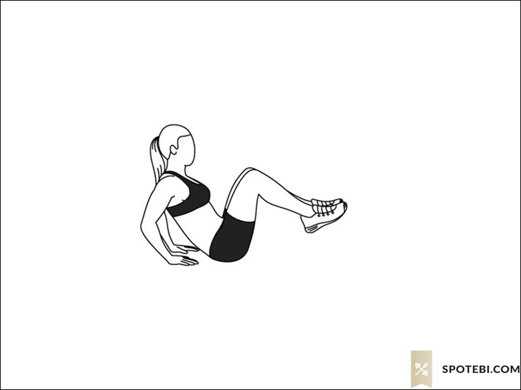 Seated knee tucks exercise guide with instructions, demonstration, calories burned and muscles worked. Learn proper form, discover all health benefits and choose a workout. http://www.spotebi.com/exercise-guide/seated-knee-tucks/