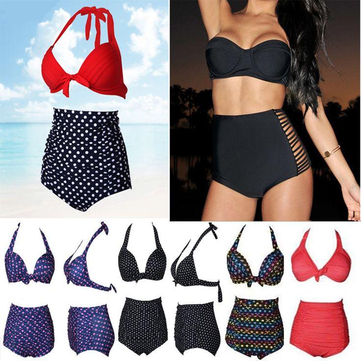 $12.69 (Buy here: https://alitems.com/g/1e8d114494ebda23ff8b16525dc3e8/?i=5&ulp=https%3A%2F%2Fwww.aliexpress.com%2Fitem%2F2016-New-Hot-Sale-Plus-Size-High-Waist-Bikinis-Women-Swimsuit-Retro-Sexy-Swimwear-Waisted-Bathing%2F32700262260.html ) 2016 New Hot Sale Plus Size High Waist Bikinis Women Swimsuit Retro Sexy Swimwear Waisted Bathing Suit Push Up Swimsuit for just $12.69