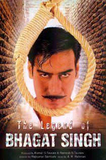 The Legend of Bhagat Singh (2002) Hindi Movie Online in SD - Einthusan Ajay Devgan, Amrita Rao, Sushant Singh, D. Santosh Directed byRajkumar Santoshi Music by A. R. Rahman 2002 [U] ENGLISH SUBTITLE