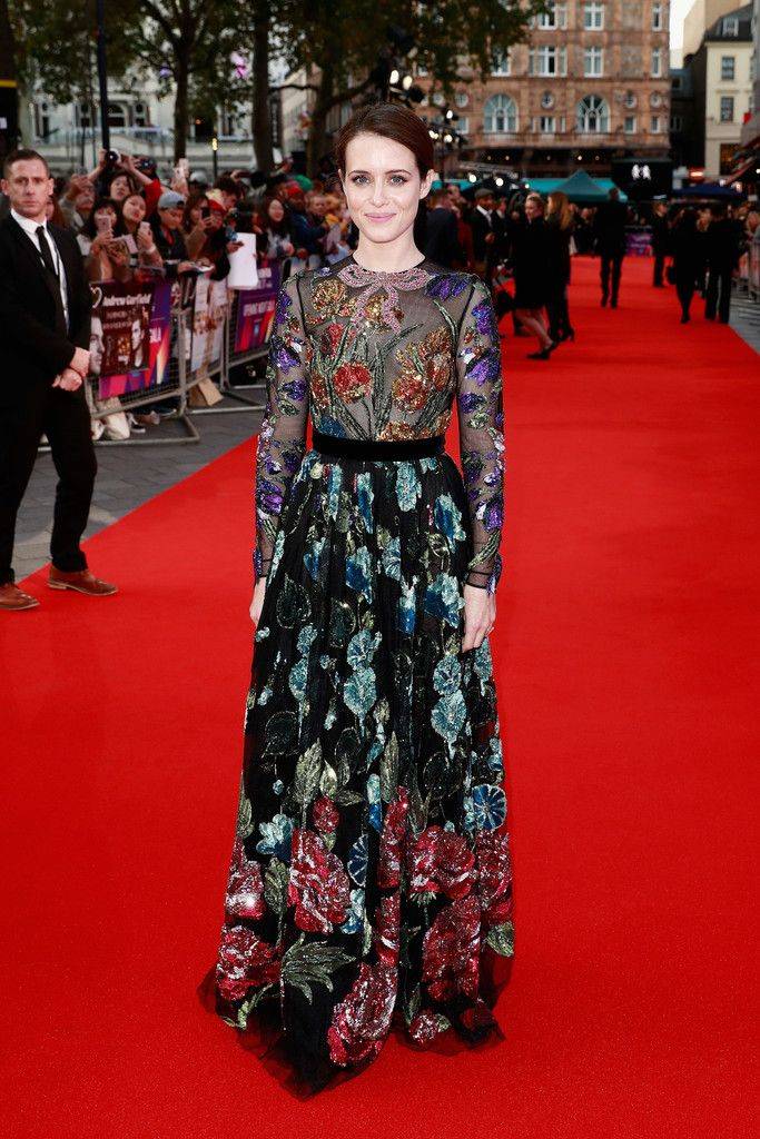 Claire Foy In Gucci – 'Breathe' London Film Festival Premiere & Opening Night Gala 2017