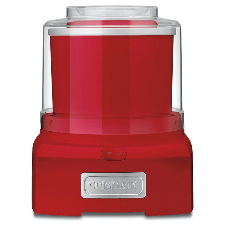 Cuisinart Automatic Frozen Yogurt & Ice Cream Maker - Red Ice-21R