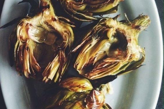 Grilled Artichokes with Garlic Lemon Aioli recipe on Food52