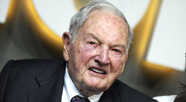 nice David Rockefeller Found Dead At Home Aged 101 Years Old