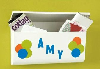 personalized kid's mailbox
