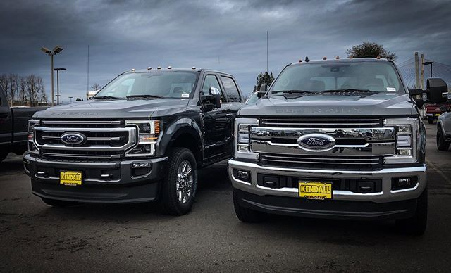 2019 Or 2020 Super Duty Which Looks Better Ford Superduty
