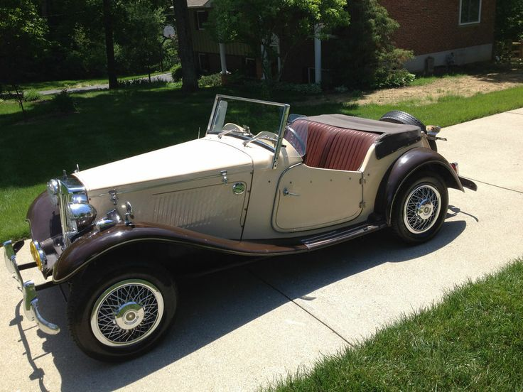 17 best images about mg td vinyls auction and saddles mg t series mg td replica mg built on a vw