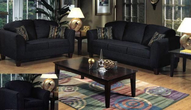 Living Room Ideas With Dark Brown Couches: Black Design Living Room Ideas