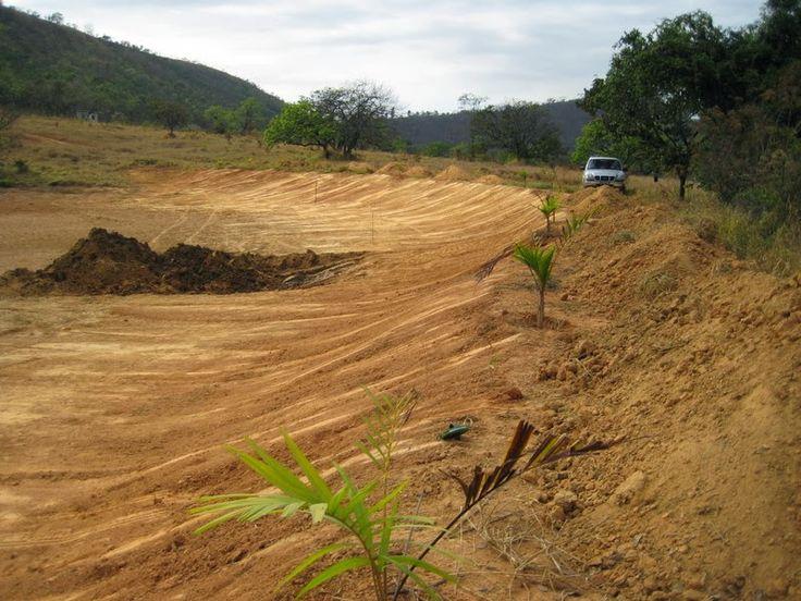 Impermeabilização de rampas de aterros de açudes e de lagos de múltiplo uso!