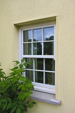 UPVC double glazed sash windows