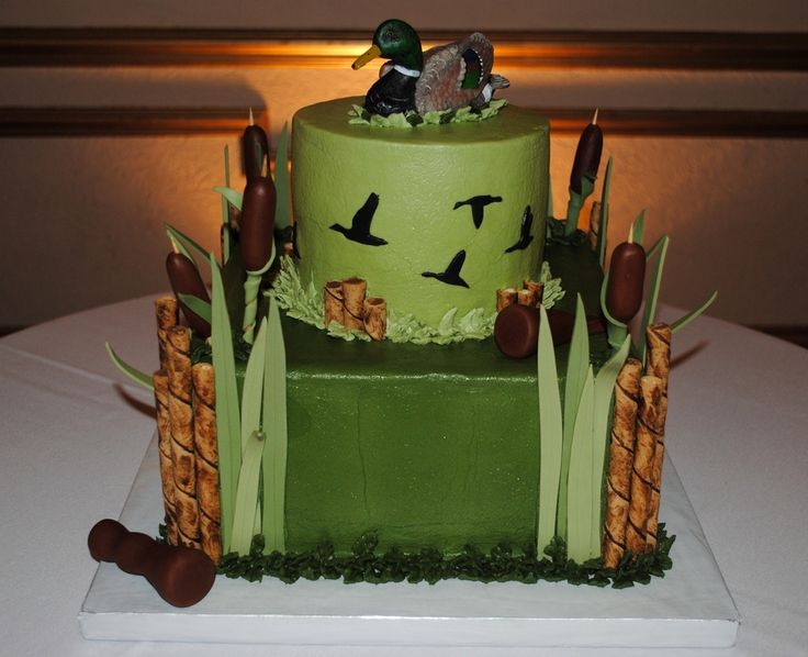 The 25 best Hunting grooms cake ideas on Pinterest Duck hunting