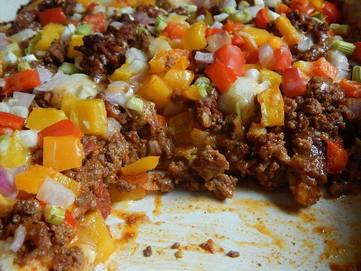 Taco fiesta bubble up casserole – Drizzle Me Skinny!
