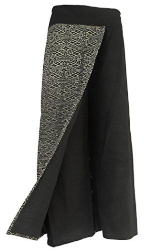 Bonya Women's Boho Cotton Casual Palazzo Pants - (Black2) Bonya Collections http://www.amazon.com/dp/B015M1LTOM/ref=cm_sw_r_pi_dp_4-PLwb0Z6JJXN