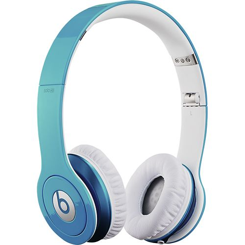 Beats By Dr. Dre - Beats Solo High-Definition On-Ear Headphones - Sky Blue $199.99