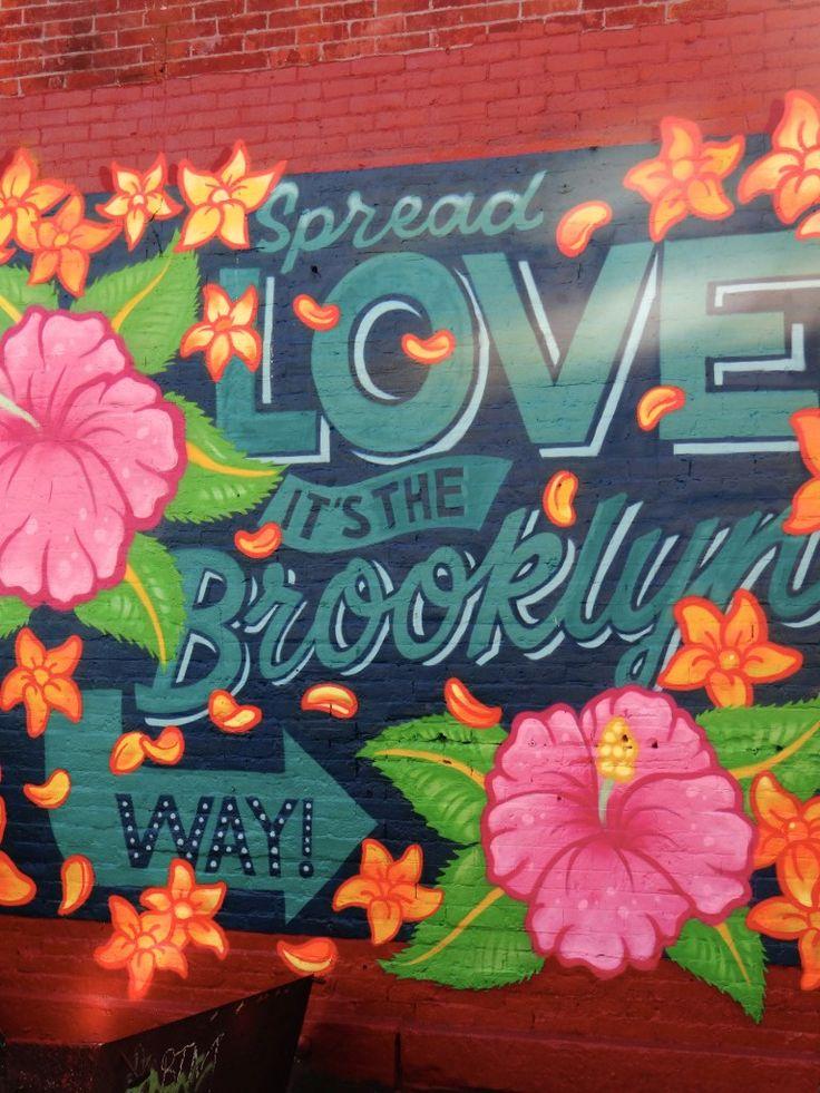 Street Art dans le quartier de Bushwick à Brooklyn !  Découverte de cette…