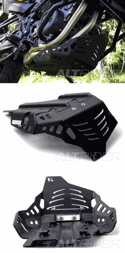 AltRider Skid Plate in Black for the BMW F800GS, F800GSA, F700GS, & F650GS Twin